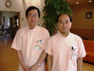 【内科医師:斉藤公基】【整形外科医師:妹尾和己】